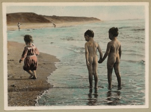 kids_vintage_swimming